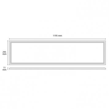 LED panel 38.4W hladno beli